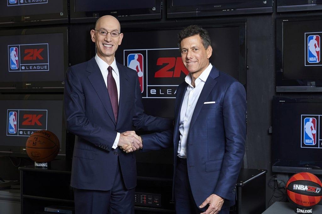 NBA 2K eLeague Announcement Image