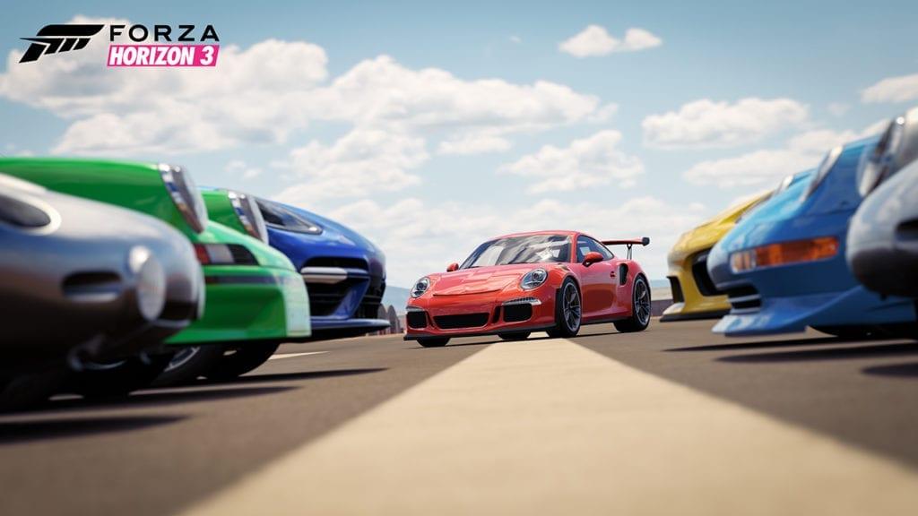 Forza Horizon 3 Porsche Group