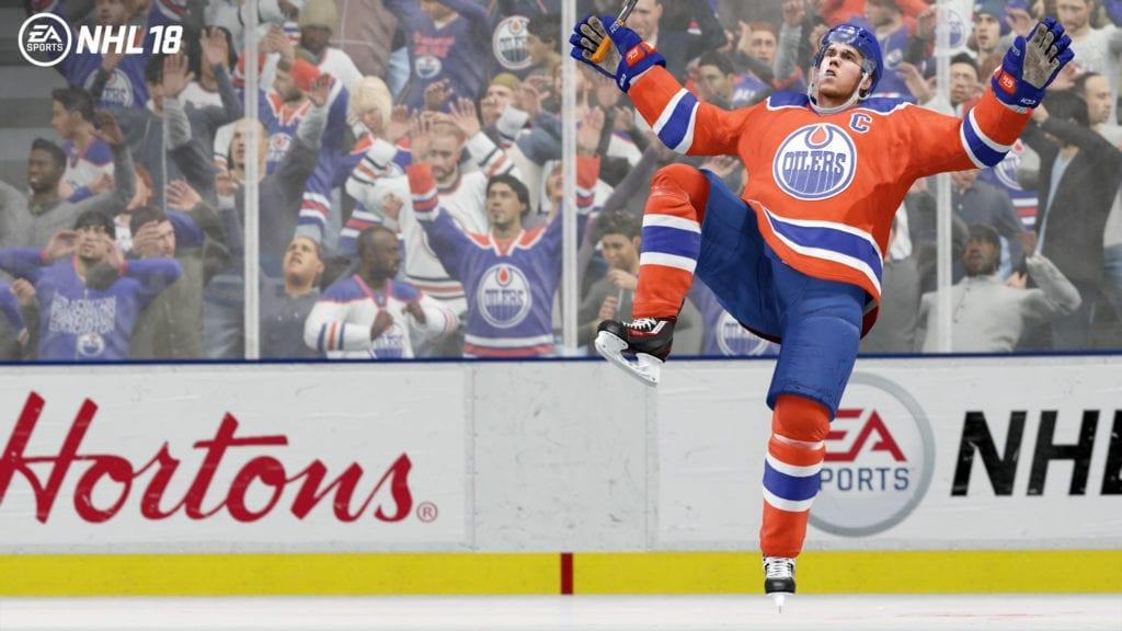 NHL18-McDavid Celebration_1920x1080
