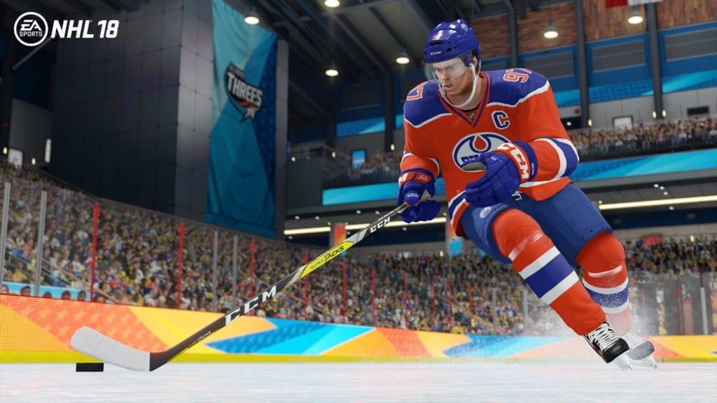 NHL18-McDavid NHLTHREES_1920x1080