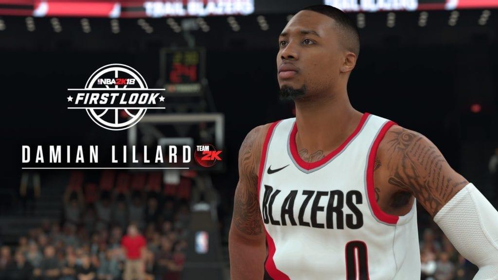 NBA 2K18 Damian Lillard