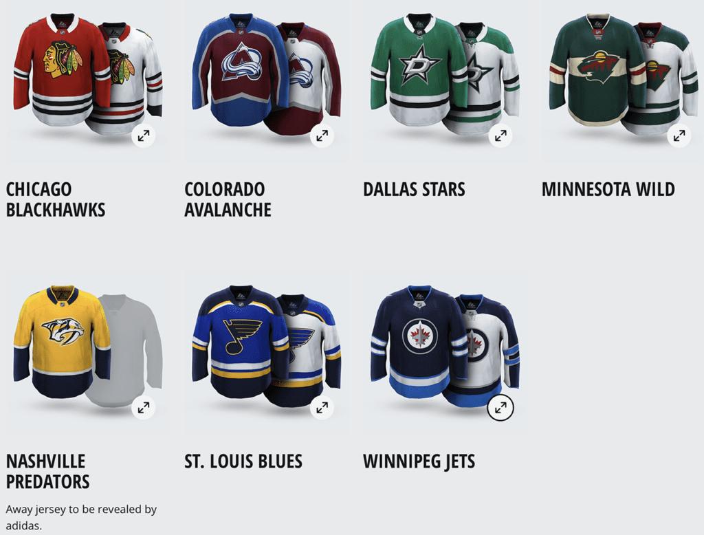 All New adidas NHL Hockey Jerseys NHL® 18 EA SPORTS