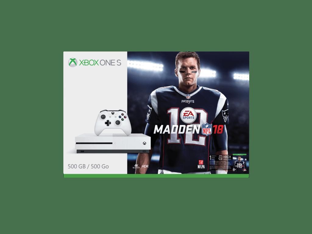 XboxOneSMaddenNFL18bundle