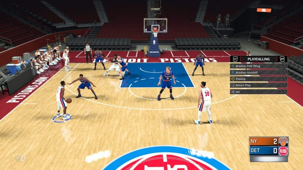 b2ae60e1f595 NBA 2K18 Offensive Tendencies