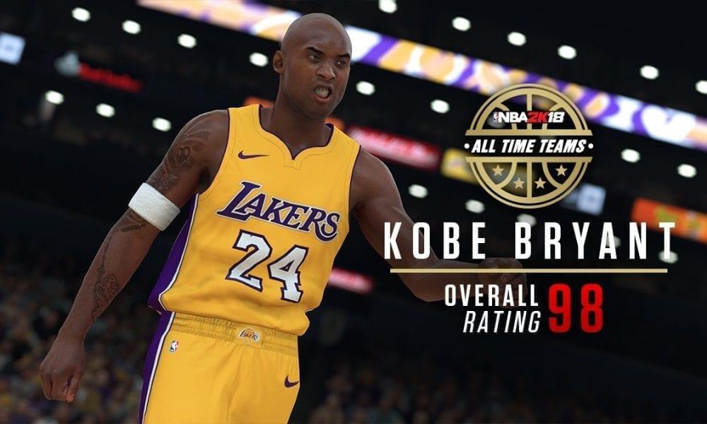 Nba 2k18 Features Kobe Bryant Amp Kevin Garnett Special