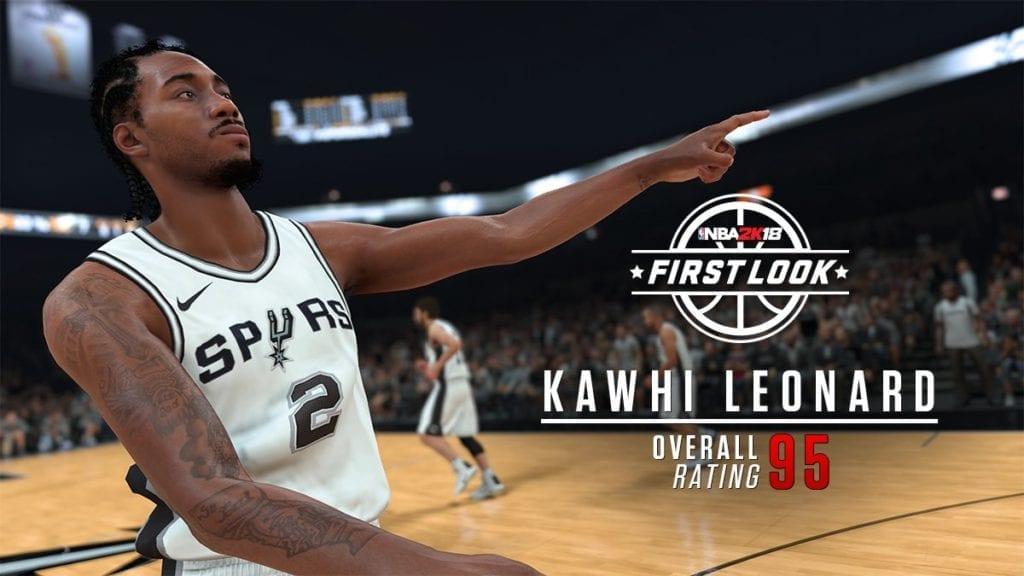 NBA 2K18 Screenshots And Ratings Kawhi Leonard LaVine