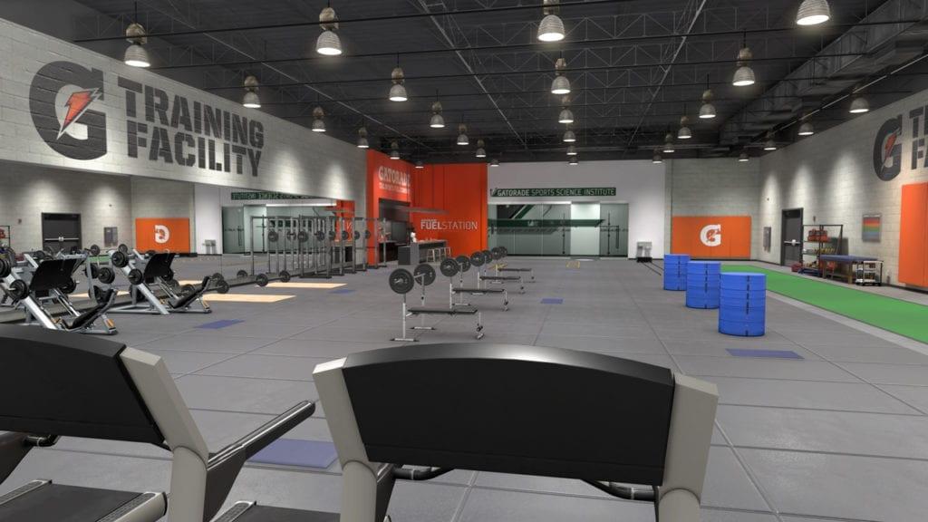 Gatorade Training Facility 2