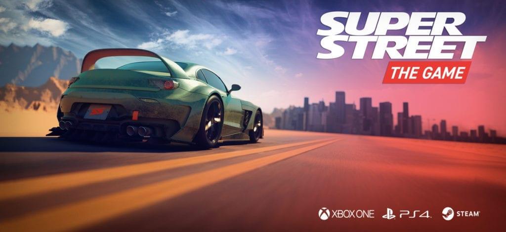 super street the game releases in 2018 for playstation 4. Black Bedroom Furniture Sets. Home Design Ideas