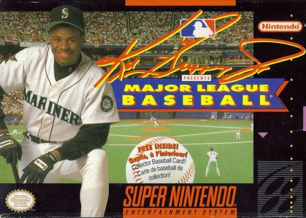 Super Nintendo baseball games