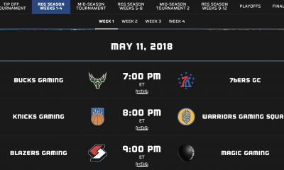 eSports. NBA 2K League Announces ...