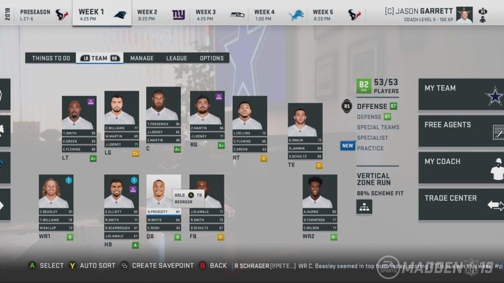 Madden NFL 19 Screenshot - MUT