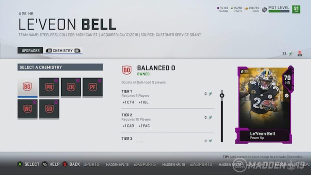 Madden NFL 19 Screenshot - MUT 3