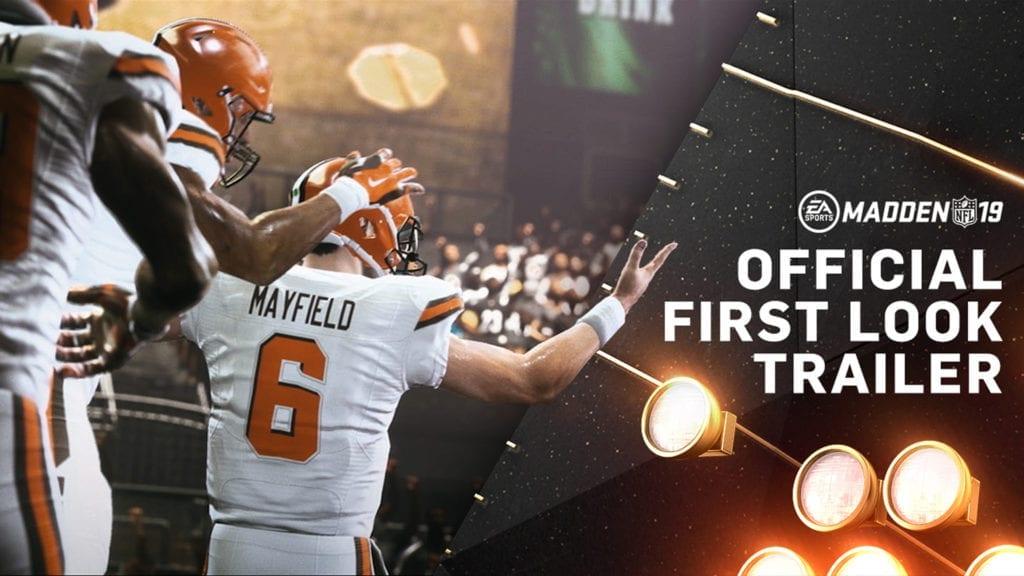 Madden NFL 19 Screenshot - Baker Mayfield