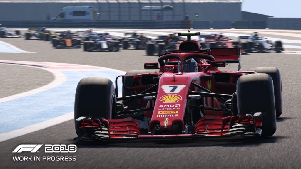 F1 2018 - Screen 1