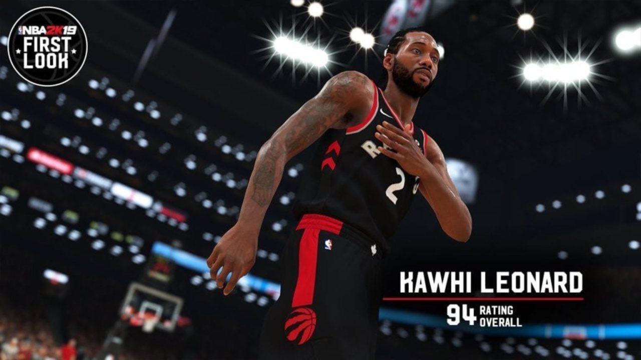 NBA 2K19 Screenshot - Kawhi Leonard (Overall Rating - 94