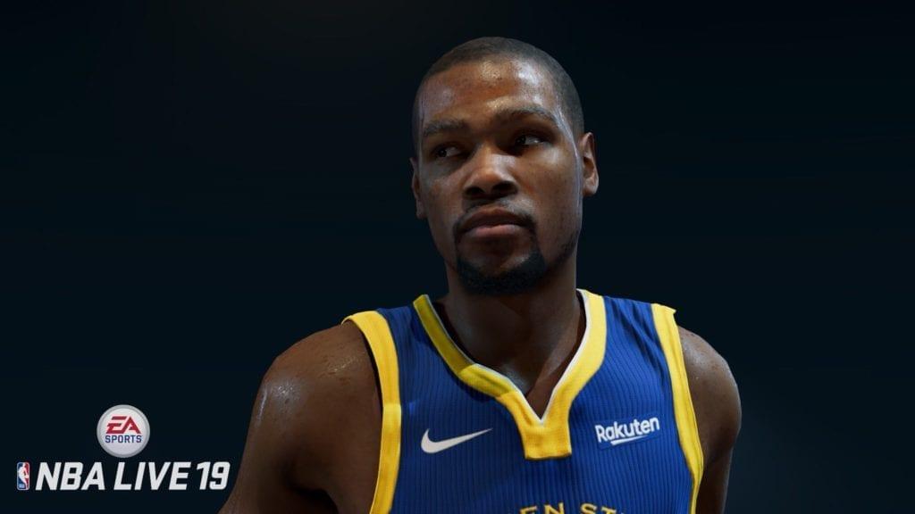 NBA Live 19 Screenshot - Kevin Durant