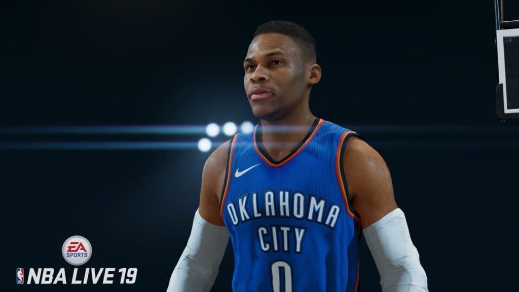 NBA Live 19 Screenshot - Russell Westbrook