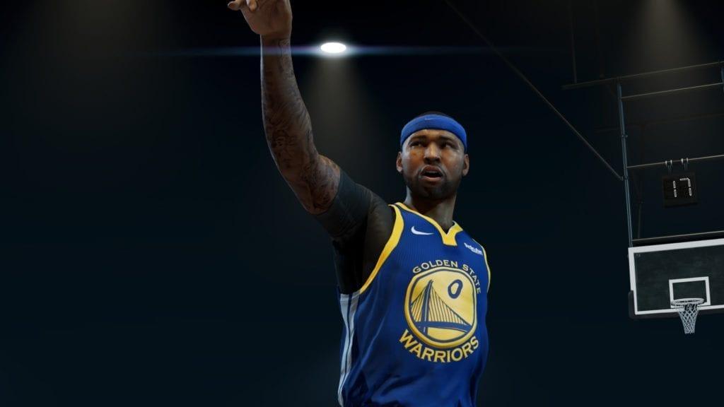 NBA Live 19 Screenshot - DeMarcus Cousins