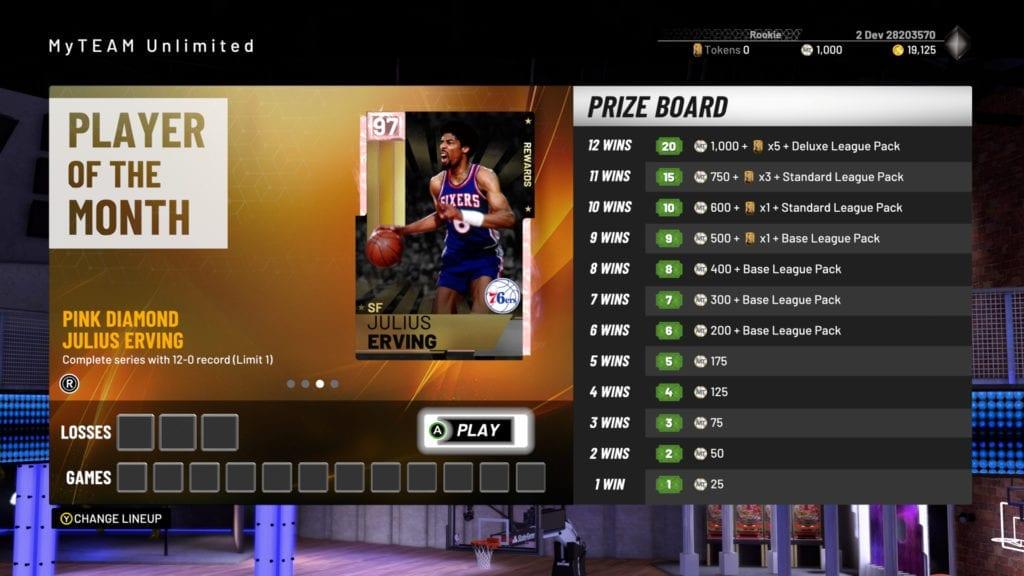 NBA 2K19 MyTEAM Trailer, Full Details & First Locker Code