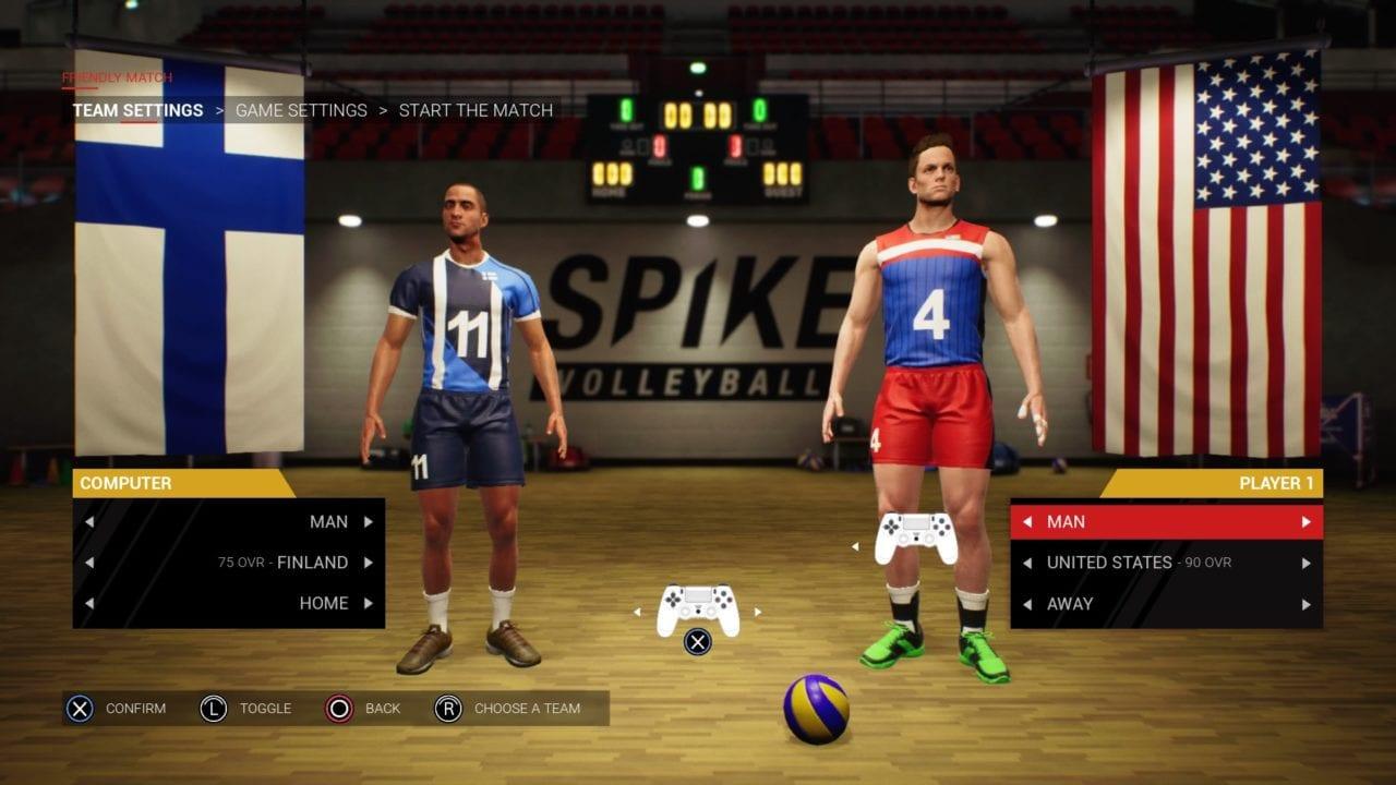 Spike Volleyball01