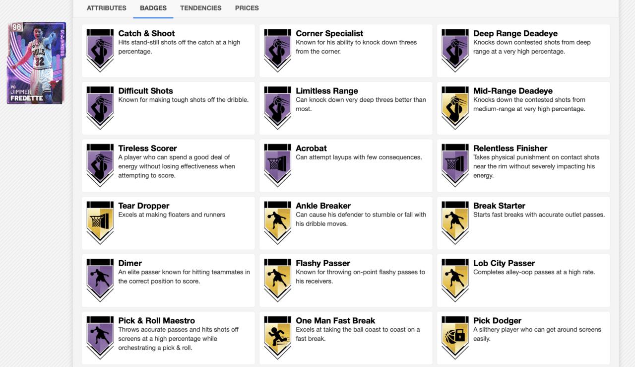 jimmer badges