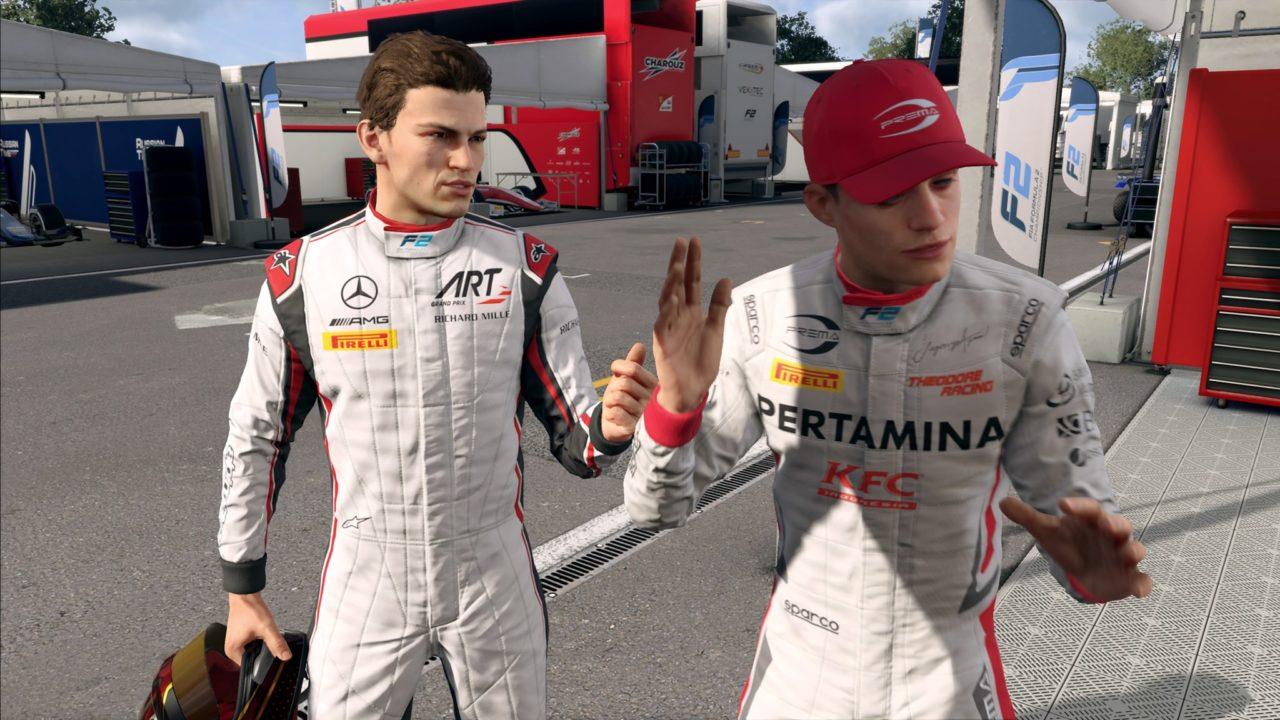 F1 career mode teamate