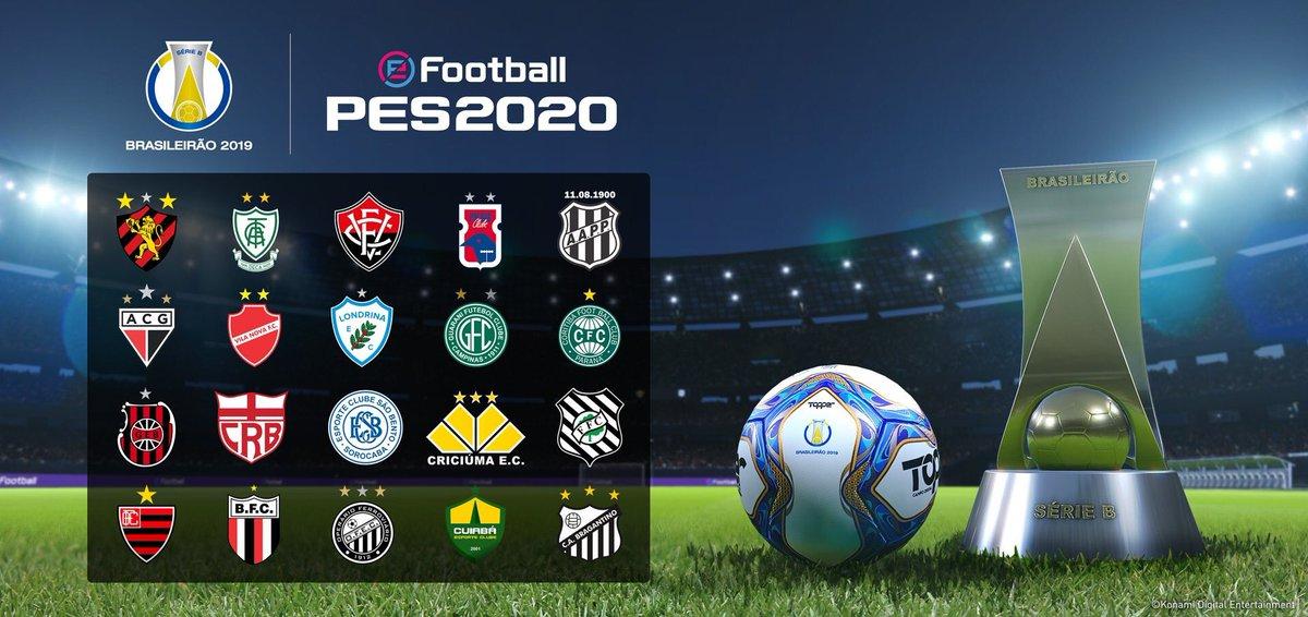 brasiliero PES 2020