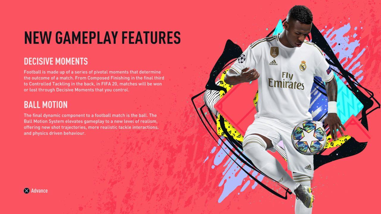 FIFA 20 DEMO (In Menus)