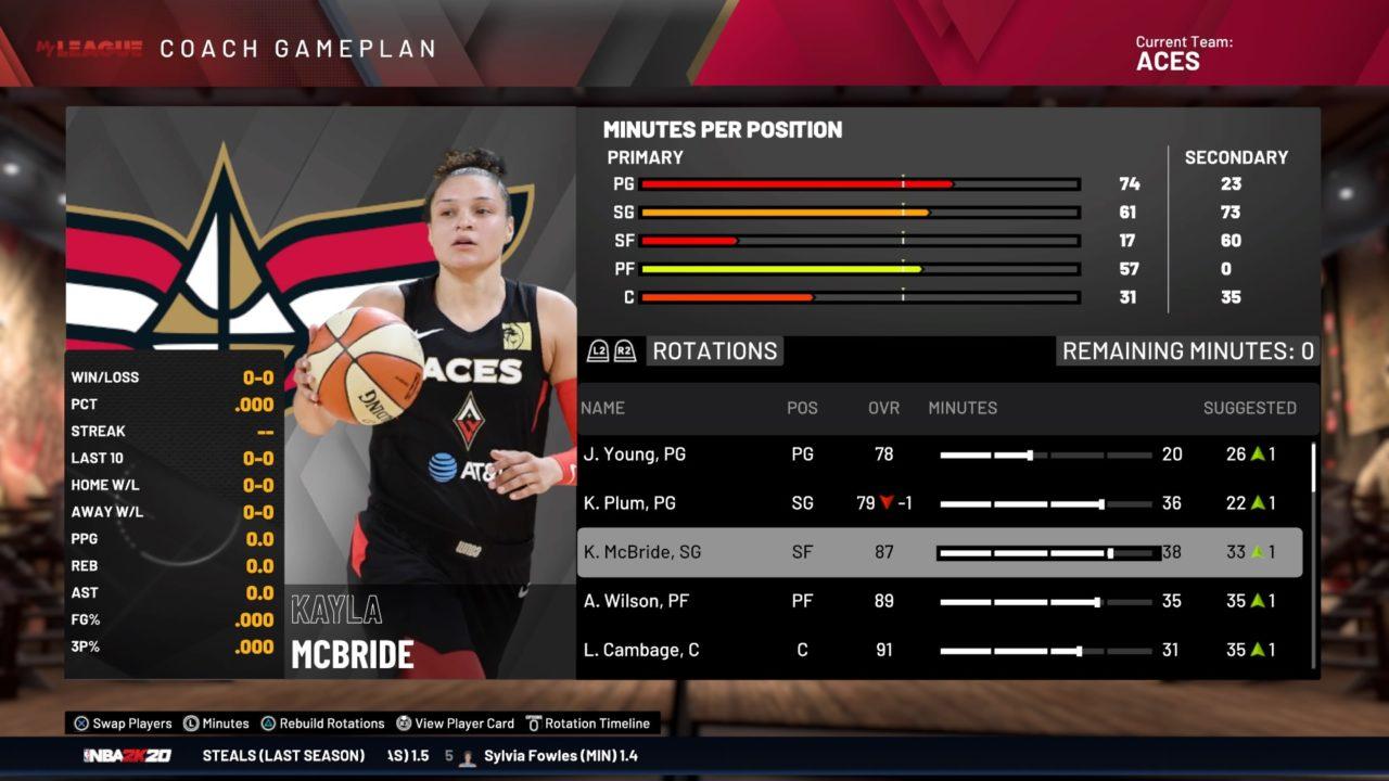 MyLeague WNBA