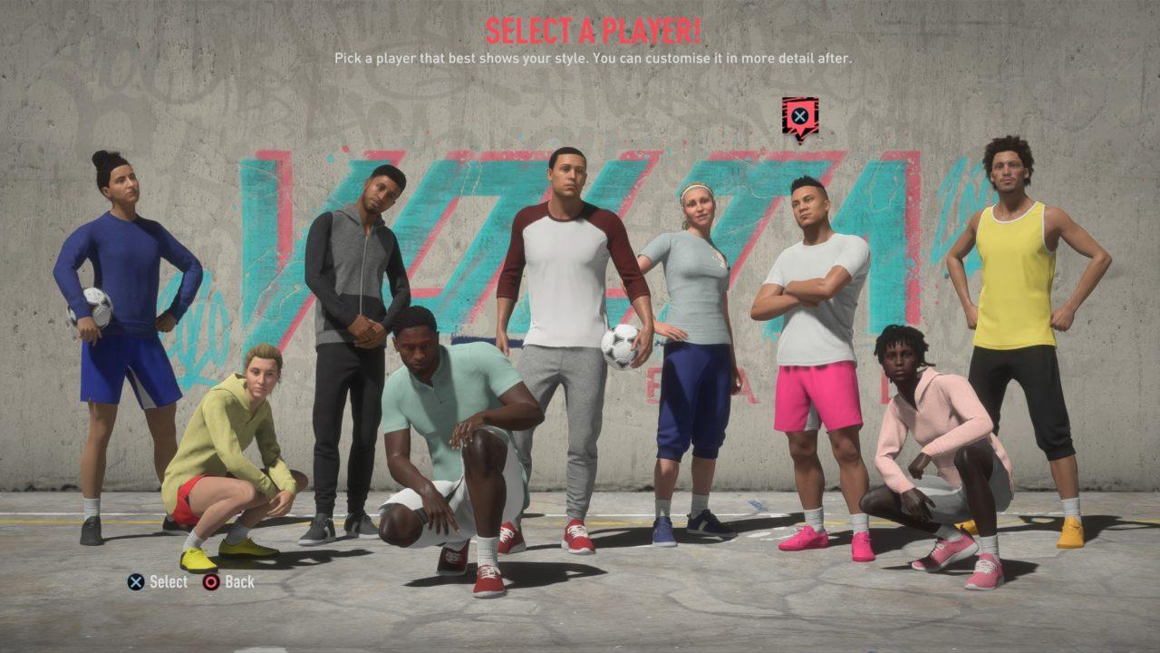 FIFA 20 VOLTA WORLD (In Menus)