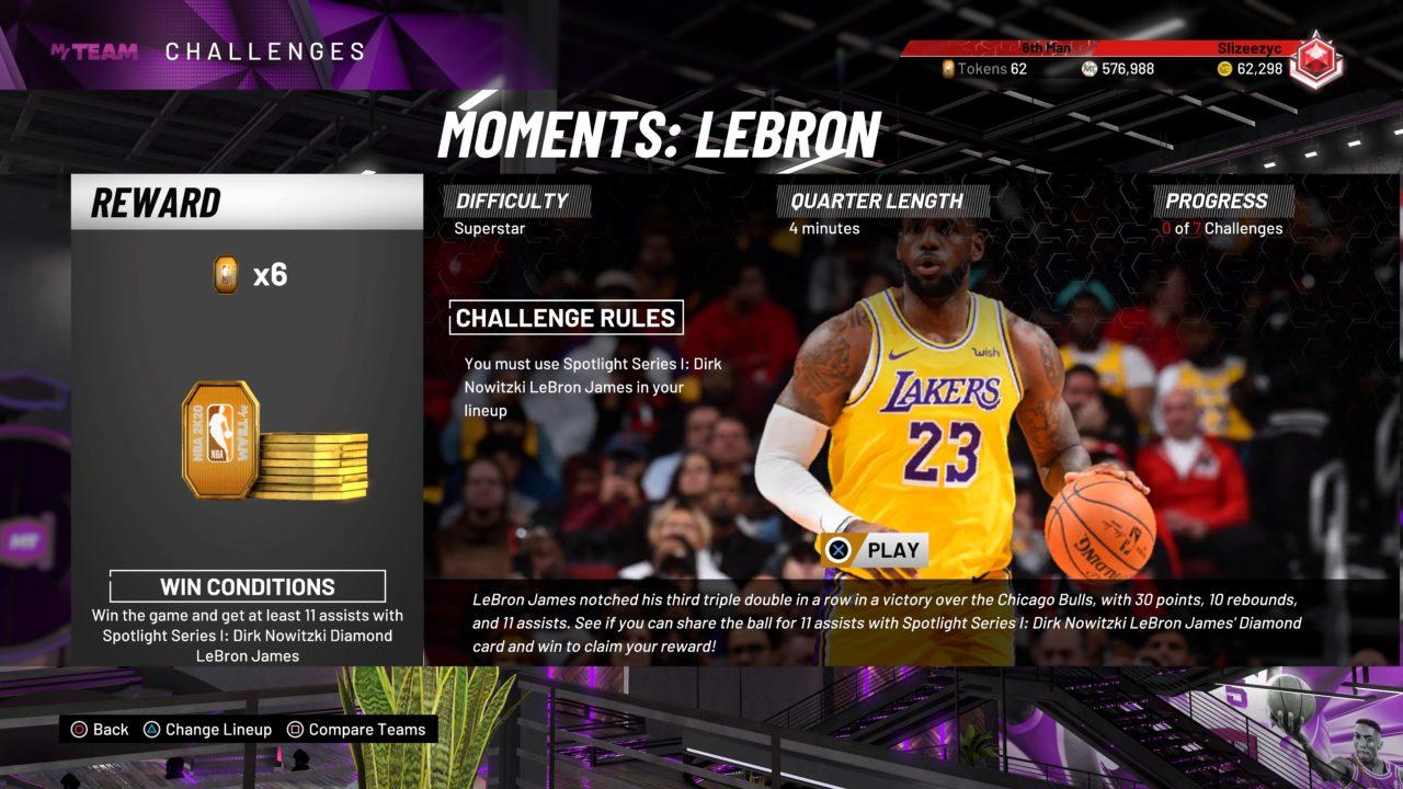 NBA 2K20 MyTeam