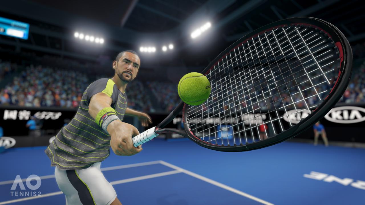 AO Tennis 2 Reveal Screenshot 3