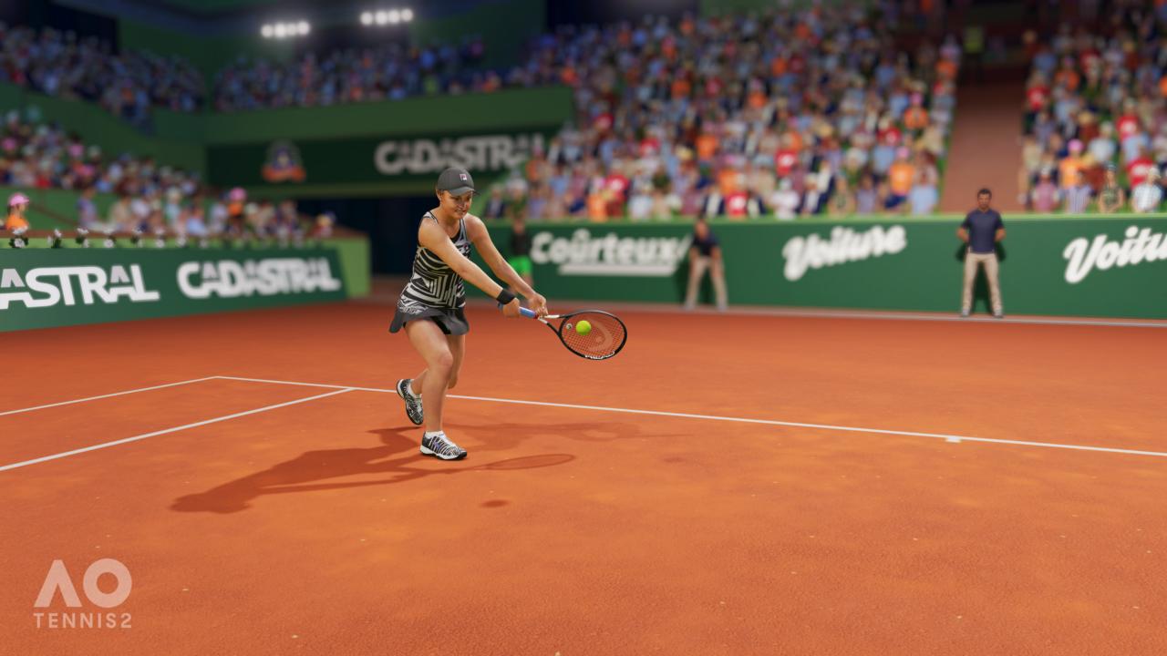 AO Tennis 2 Reveal Screenshot 4