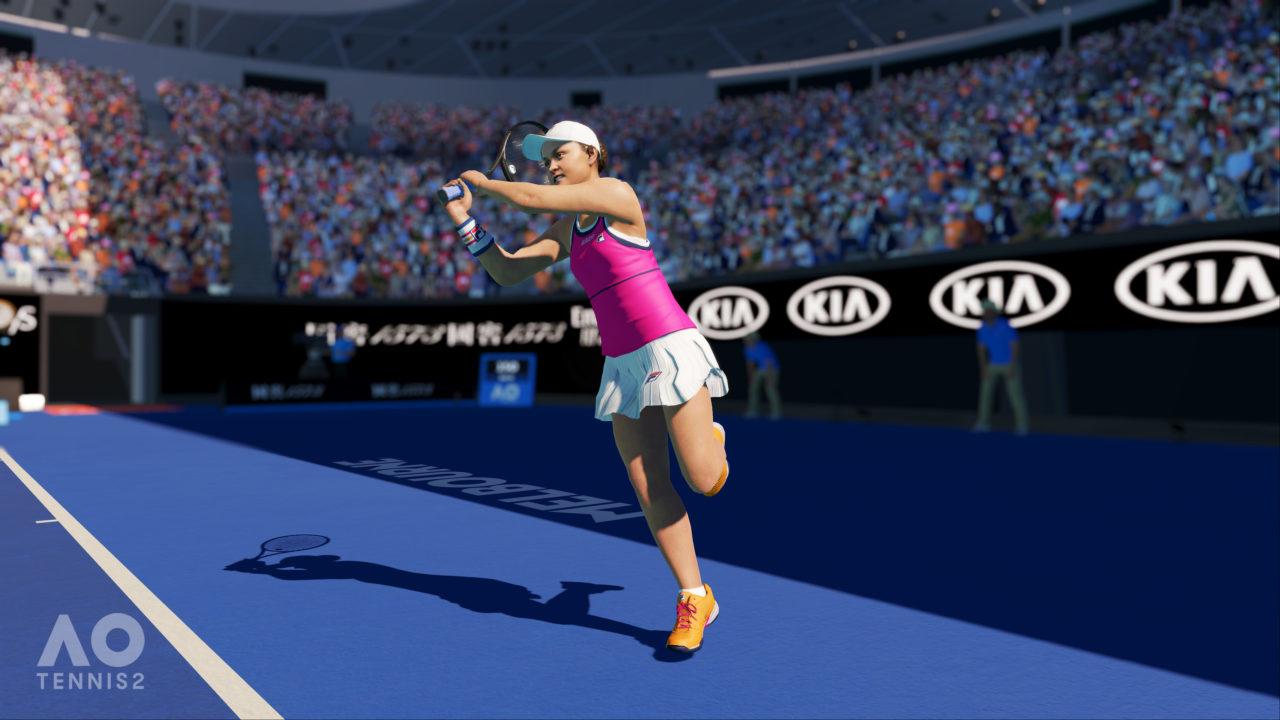AO Tennis 2 Reveal Screenshot 6 Light