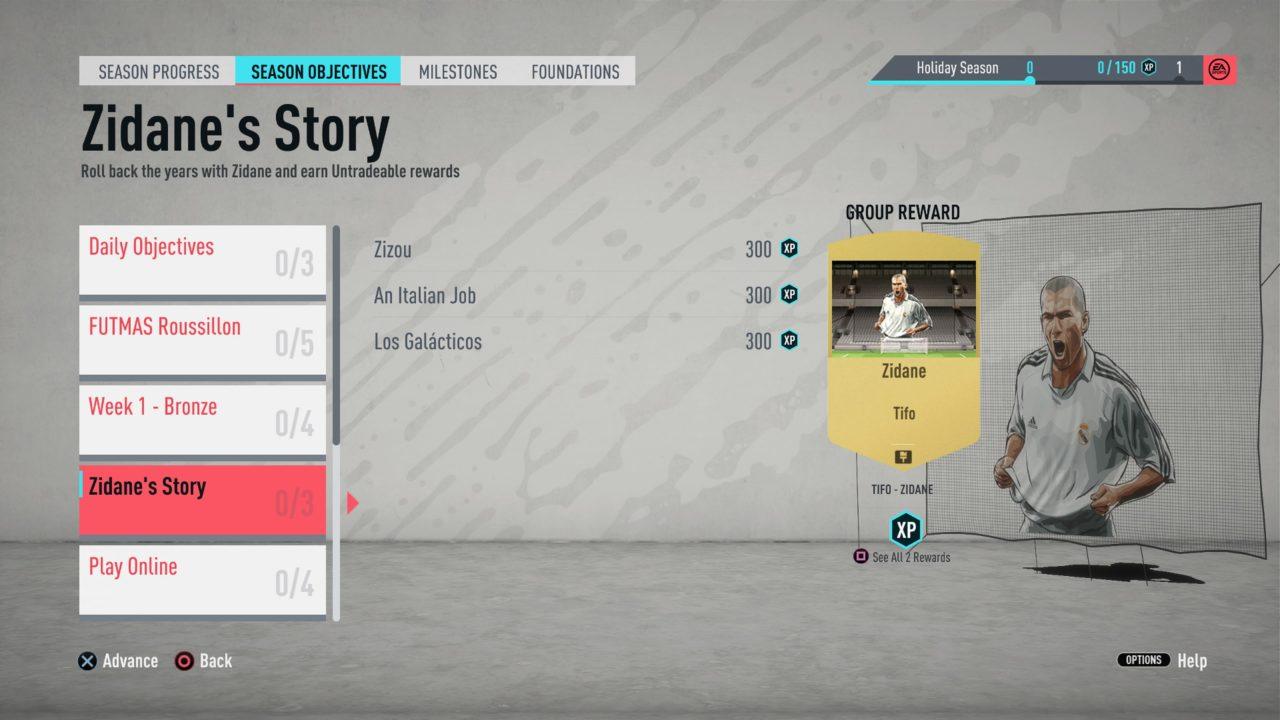 FIFA-20-FUT-Zidane-objectives
