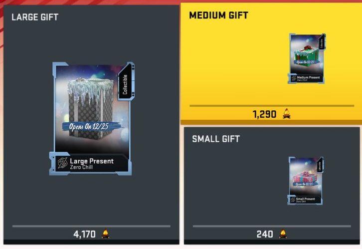 Madden 20 MUT zero chill gift