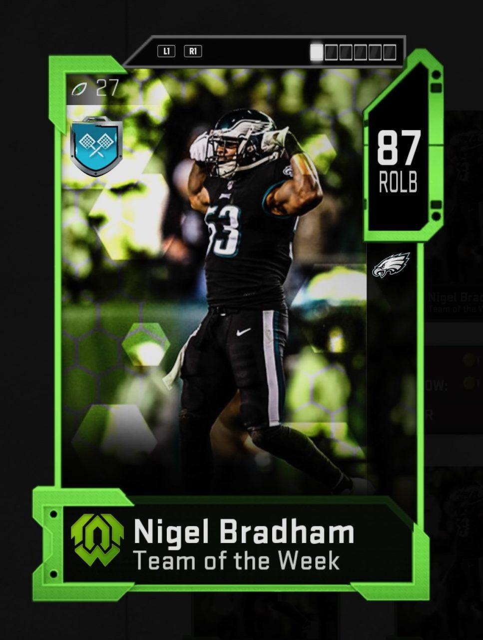 madden_20_team_of_week_15_nigel_bradham