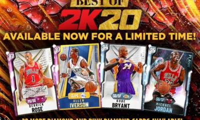 Best of 2k20 packs splash screen