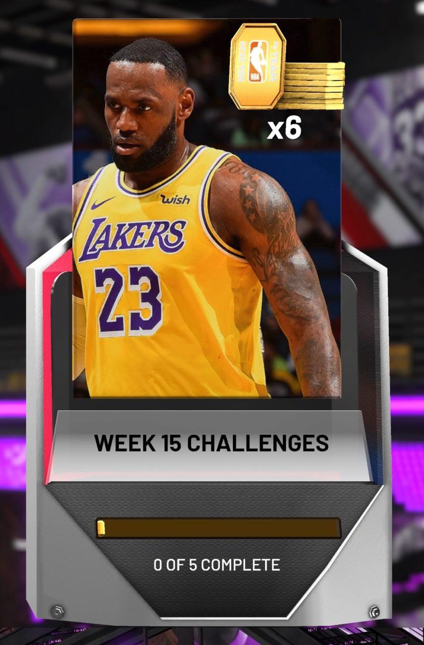 NBA 2K20 MyTeam week 16 challenges