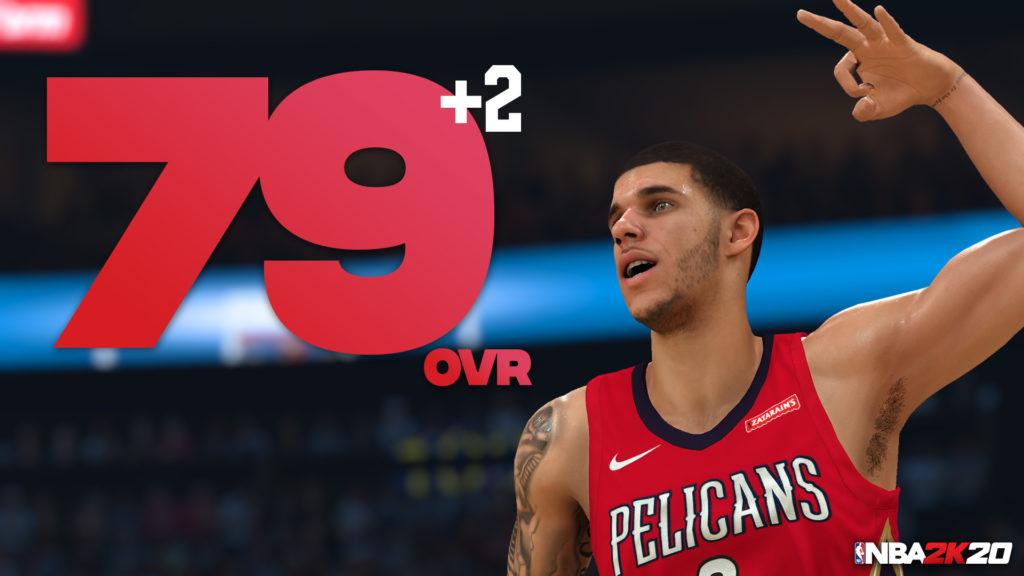 NBA 2K20 Lonzo Ball