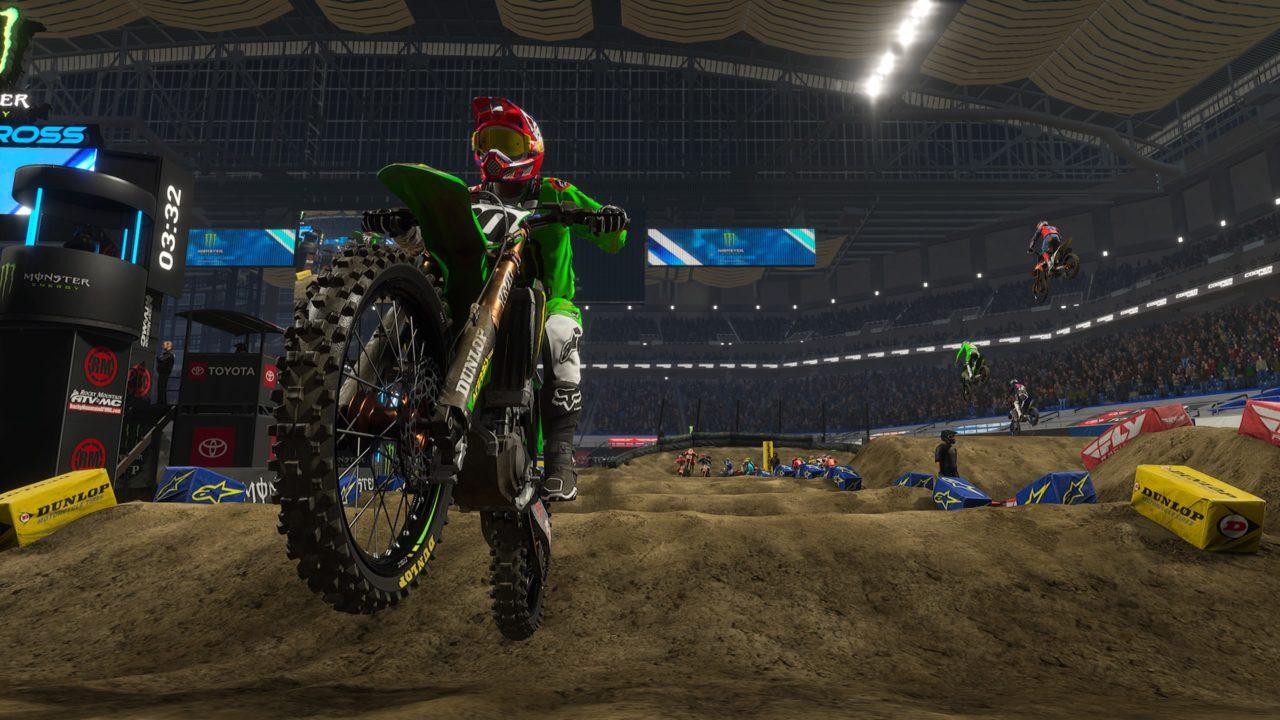monster energy supercross 3 review