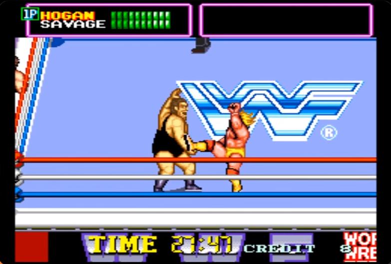 WWF Superstars Hogan Andre