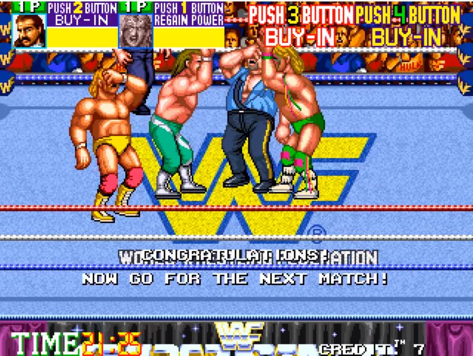WWF WrestleFest Loss