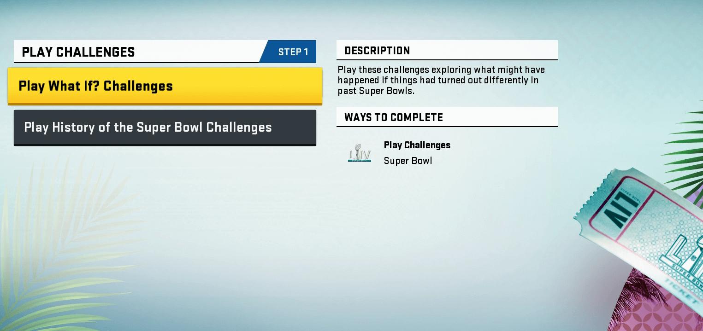 madden-20-mut-super-bowl-challenges