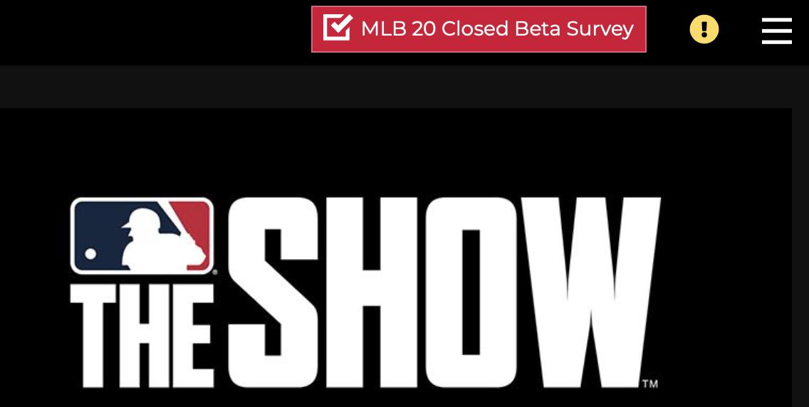 mlb-the-show-20-closed-beta-survey