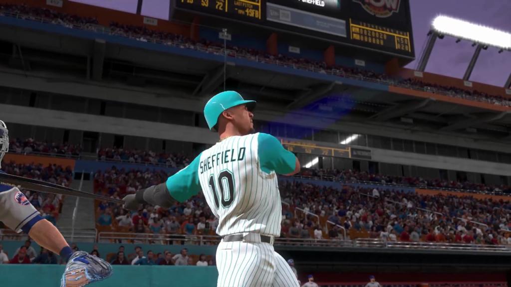 mlb the show 20 screenshots gary sheffield home run