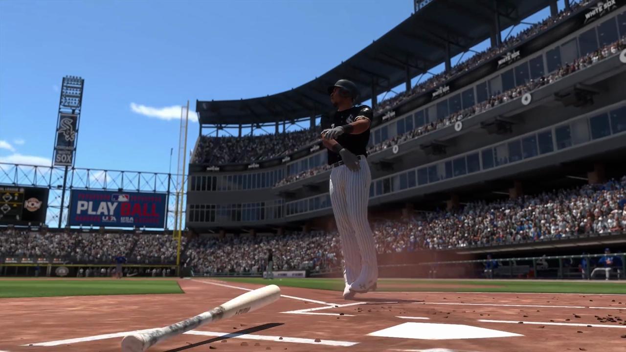 mlb the show 20 screenshots tim anderson home run bat flip