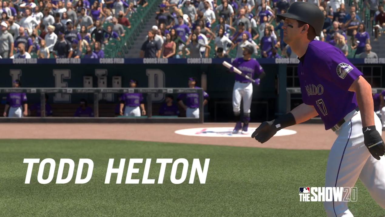MLB The Show 20 Helton