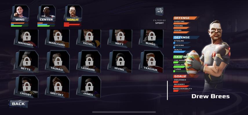 UR roster