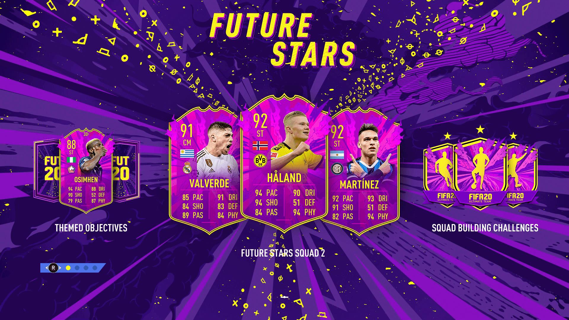 fut future stars splash